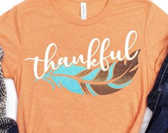 thankful feather svg,thankful svg, feather svg,Thanksgiving SVG,Thanksgiving Svg Designs,Thanksgiving Cut File,svg for cricut,svg for mobile
