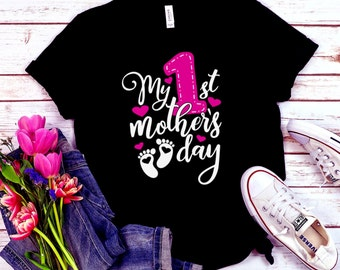 Mother's Day Svg, First mothers day svg, new baby mother's day svg, new baby svg,l ove mom svg, motherhood svg, Mother's Day Svg, cricut svg