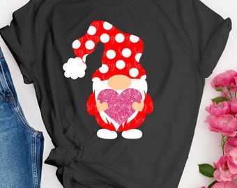 Valentines day svg, valentine, gnome, gnomes svg, SVG, DXF, EPS, trending svg,File for Cutting Machines Cameo and Cricut, svg for Cricut