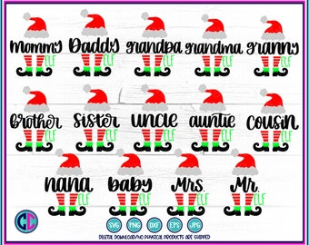 Elf bundle svg,Christmas elf bundle svg,family elf bundle svg,svg bundle, bundle svg,Christmas svg designs, Christmas cut file, cricut svg