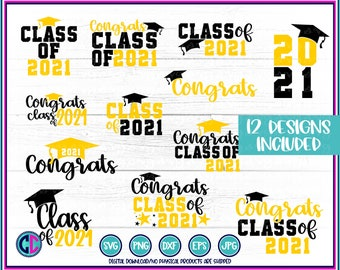 Graduation svg Bundle, graduation bundle, class of bundle, Graduation SVG, graduation Cake Topper SVG, Class of 2021 SVG, graduating svg