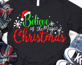 believe in the magic of christmas svg,Believing svg,Christmas svg,Christmas svg designs, Christmas cut file, svg for cricut,svg for mobile