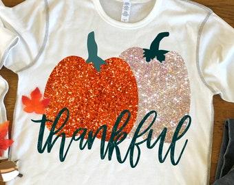 thankful svg, Pumpkin svg, pumpkins svg, Fall svg, Thankful, Thanksgiving svg, SVG,Digital Download,dxf, eps, svg for cricut