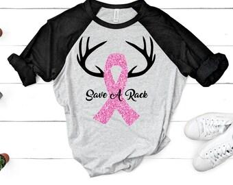 breast cancer svg, Save A Rack svg, Breast Cancer png, Cancer Survivor svg, Pink svg, Fight for the Cure, Cricut Designs, Silhouette Designs