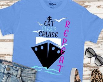eat sleep cruise repeat svg,Family Trip Svg,Cruise SVG,Family Vacation Svg, cruise Svg,Summer Svg Designs, Summer Cut File, cricut svg