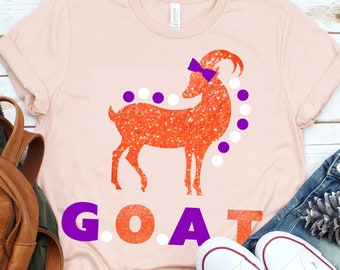 Greatest Of All Time SVG,Tshirt svg,GOAT svg,Greatest svg,Goat Tshirt,G.O.A.T svg,Crafty Cuttables,Cricut Design,Silhouette Design