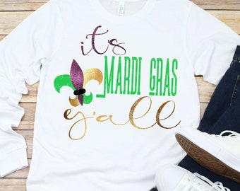 mardi gras svg,it's mardi gras y'all svg,mardi gras yall svg,mardi gras,Mardi Gras Svg Designs, Mardi Gras Cut File, cricut svg