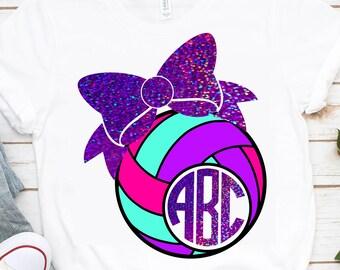Volley ball Monogram svg,Volleyball svg,Volleyball,Volley ball clipart,Volleyball monogram,monogram Volleyball,sports svg,Volley ball tshirt