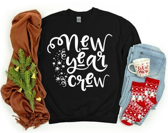 New Year Crew Svg, New Year's Svg, New Year's Eve Svg, New Year svg designs, New Year cut files, Christmas svg design, Christmas cut files