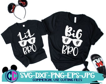 Big Brother Svg, Little Brother Svg, Big Bro Svg, Lil Bro Svg, Kids Cut File, Kids svg designs, Sibling Quote Svg, Siblings svg, Brother svg