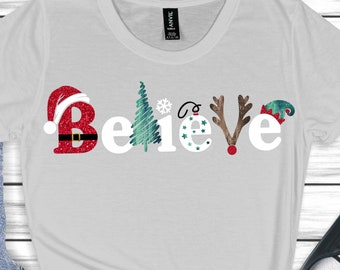Believe svg,Santa svg,Christmas svgs,Holiday svg,Christmas Shirts,rudolph svg, Christmas Svg Design, Christmas Cut Files, cricut svg