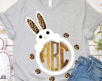 cheetah bunny rabbit svg, eps,png,cutting file for silhouette cricut, Jesus svg, easter svg,bunny svg,bunny ears svg, Cute, Funny, Christian
