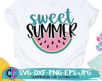 Summer Svg, Sweet summer watermelon svg, watermelon svg, melon svg, summertime svg, Summer svg design, Summer cut file, Summer cricut