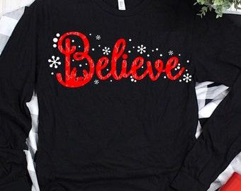 Believe SVG, nativity svg,Christmas Svg, Santa Svg, Santa Hat Svg, Believe in Santa Svg Christmas Svg Design,Christmas Cut Files, cricut svg
