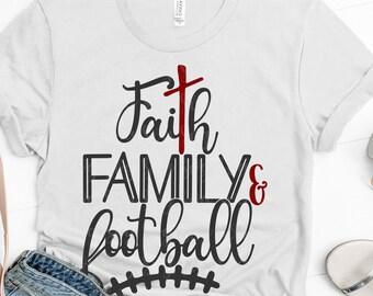faith family football svg, Football Mom svg, svg, faith svg,family svg, football, Sports Svg Designs, Sports Cut File, cricut svg