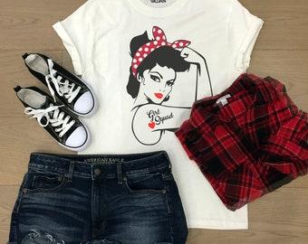Rosie the Riveter svg,Girl Squad svg,Girl Power svg,Rosie The Riveter clipart,Rosie svg,Rosie Girl svg,Cricut Designs,Silhouette Designs