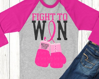 Fight to win svg,Boxing Gloves svg,Breast Cancer svg,Cancer Survivor svg,Fight for the Cure,Breast Cancer,svg for cricut, cancer gloves svg