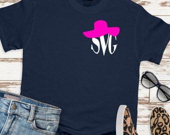 beach hat monogram svg, beach svg, monogram svg, beach hat svg, vacation svg, Summer Svg Designs, Summer Cut File, cricut svg