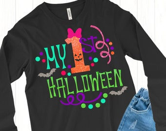 My First Halloween With BowSVG,Halloween svg,First Halloween svgs,Ghost svg,halloween svg,halloween vector,Cricut Designs,Silhouette Designs