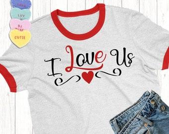 I Love Us svg,Valentine svg,Love Us svg,Valentine Heart svg,Valentine Tshirt,Love svg,Valentine Arrow ,Cricut Design,Silhouette Design