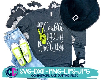 halloween svg, you coulda had a bad witch svg, halloween png, halloween movie svgs, Halloween svg designs, halloween svg designs