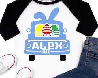 Boy Bunny Truck Svg,Girls Easter Svg,Easter Bunny Svg,Easter Svg,Rabbit Svg,Kids Easter Svg,Easter shirt,Chick svg,Happy Easter Bunny svg