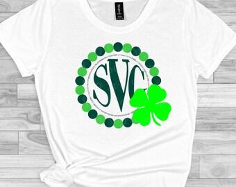 St patricks day svg, Shamrock  svg,Luck Shamrock svg,monogram svg,St Patricks Day Svg Designs, St Patricks Day Cut File, cricut svg