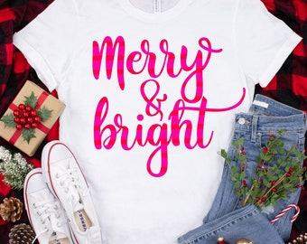 merry and bright stripes svg, merry christmas svg, stripes svg, christmas svg, Christmas svg designs, Christmas cut file, svg for cricut