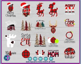 plaid bundle svg,Christmas plaid bundle svg,buffalo plaid bundle svg,svg bundle,Christmas svg designs, Christmas cut file, cricut svg