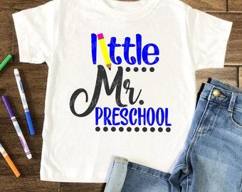 mr preschool svg, little mr preschool svg, school svg, back to school svg, tshirt, teacher,svg for cricut,silhouette cut file