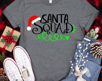 Santa Squad,Santa svg,Santa Squad svg,Santas Squad svg,Santa,Santa Squad Cricut Christmas,Christmas svg,Cricut Designs,Silhouette Design