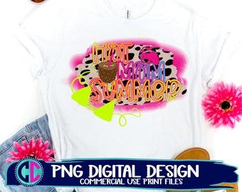 hot mom summer png, Summer PNG, Print File Sublimation, Print png, Retro Sublimation, Summer, Beach Design, Vintage png, sublimation png