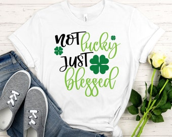 St Patricks Day Svg, not lucky just blessed svg, Irish svg, beer svg, shamrock svg, St Patricks Day Svg, St Patricks Day Cut File, cricut