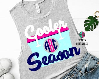 Cooler Season svg,cooler monogram svg,Yeti Cooler svg,beach svg,beach cooler svg,southern svg,yeti svg,SUMMER,lake svg,summertime svg