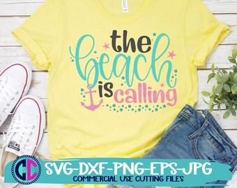 Summer Svg, the beach is calling svg, vacation svg, beach svg, summertime svg, Summer svg design, Summer cut file, Summer cricut