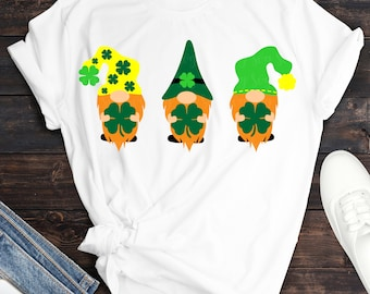 st pattys gnomies  svg, lucky gnome svg, St Pattys day svg, clover svg,File for Cutting Machines Cameo and Cricut, svg for Cricut