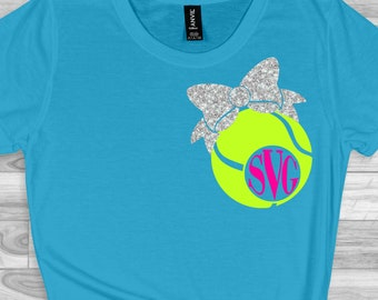 Tennis ball Monogram svg, Tennis ball svg, Tennis ball,Tennis ball dxf, Tennis monogram, cut files, cricut svg, svg for mobile, mobile svg