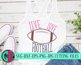 Football outline svg, love football svg football cut file, Football svg, dxf,eps, png, Football,iron on decal, football, svg for cricut