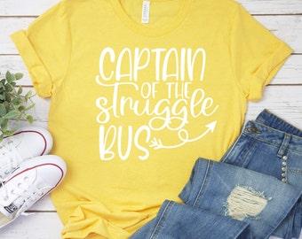Sarcastic Svg,captain of the struggle bus svg, struggle bus svg, Sarcastic Svg, Humorous Svg, Funny Svg Designs, Funny Cut Files, Cricut svg