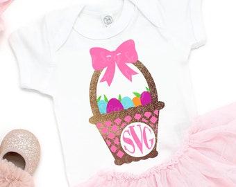 Easter Svg, Easter basket Monogram,Eatser svg,Easter Basket svg,Eatser Egg svg,Bunny svg,Easter Svg Designs, Easter Cut File, cricut svg