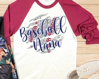 Baseball Nana svg,Baseball Mom svg,mom svg,baseball love,laces svg,baseball tshirt,Sports Svg Designs, Sports Cut File, cricut svg