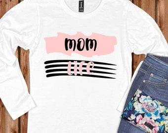 mothers day svg, mom life svg, striped mom life svg, mom svg, Tshirt svg, Mothers Day Svg Designs, Mothers Day Cut File, cricut svg