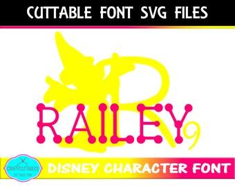 Disney Font SVG, Mickey Mouse font,fonts,Circle Monogram, Circle svg,circle monogram png,monogram circle, Cricut Designs,Silhouette Designs