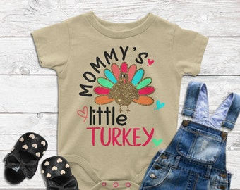 Mommy's Little Turkey,Thanksgiving Baby SVG,Thanksgiving svg,Tshirt svg,Onesie Thanksgiving Design,Cricut Designs,Silhouette Designs