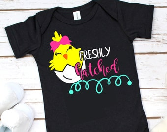 Freshly Hatched Chick Svg,Girls Easter Svg,Easter Girl,Little Girl Svg,Chicks Svg,Kids Easter Svg,Easter shirt,Hatched Chick svg,Chick svg
