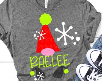 gnome christmas svg, snow svg, gnome svg,gnome monogram svg, christmas, Christmas svg design, Christmas cut file, svg for cricut