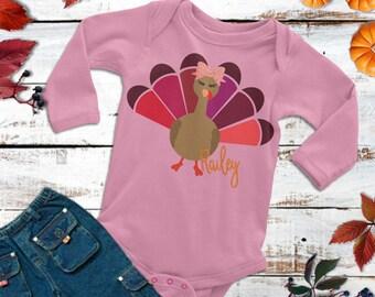 Little Turkey svg,Thanksgiving Baby SVG,Thanksgiving svg,Tshirt svg,Onesie Thanksgiving Design,Cricut Designs,Silhouette Designs