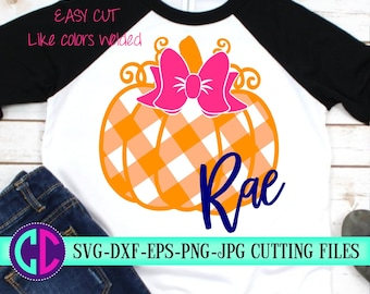 easy weed gingham plaid pumpkin svg, Svg files for Cricut, fall svg, pumpkin Svg, plaid svg, tshirt svg, autumn svg, Silhouette, Iron On