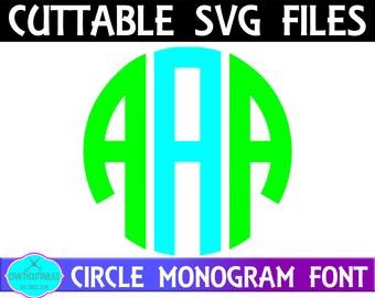 Circle Font SVG,Circle Monogram Font,font,Circle Monogram svg,Circle Monogram, Circle Font Monogram,Cricut Designs,Silhouette Designs