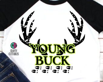 Young Buck Antler,Antlers SVG,Antler,Deer Antlers,Antlers Cutting,hunting svg,boy hunter svg,little boy svg,antler hunter svg,tshirt svg